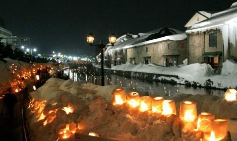 グランドパーク小樽_雪あかり84-2