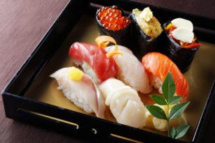 寿司8貫付き★秋の和洋ディナーコース