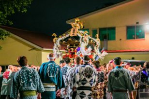 今日から龍宮神社のお祭りです!