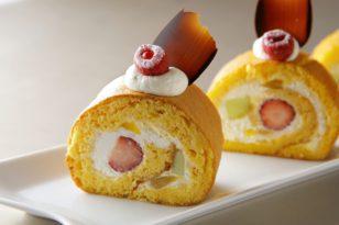 人気のロールケーキが登場!