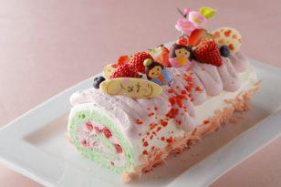 菱餅カラーのかわいいひなまつりケーキ