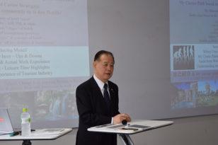 小樽商科大学で講演しました!