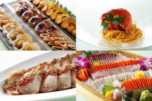 北海道食材満載のディナーブッフェ★モニター宿泊プラン
