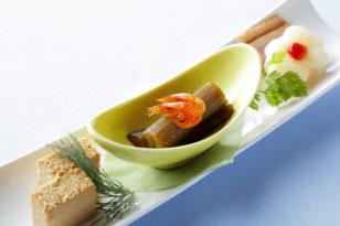 ちょっと小粋な和風前菜もおすすめ