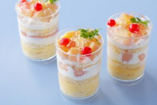 夏が旬★桃を使ったショートケーキ
