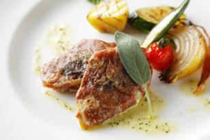 セージが香るソースが絶品★イタリアンコースのメイン料理