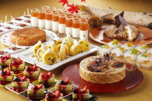 スイーツブッフェ★秋の味覚とフランス菓子のコラボフェア