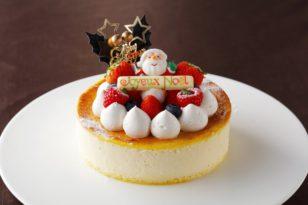 クリスマスケーキ③ チーズケーキ