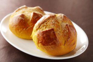 かぼちゃ&きな粉を使った11月限定パン