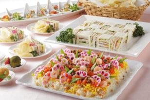 春の華やかさを表現した散らし寿司はいかが?