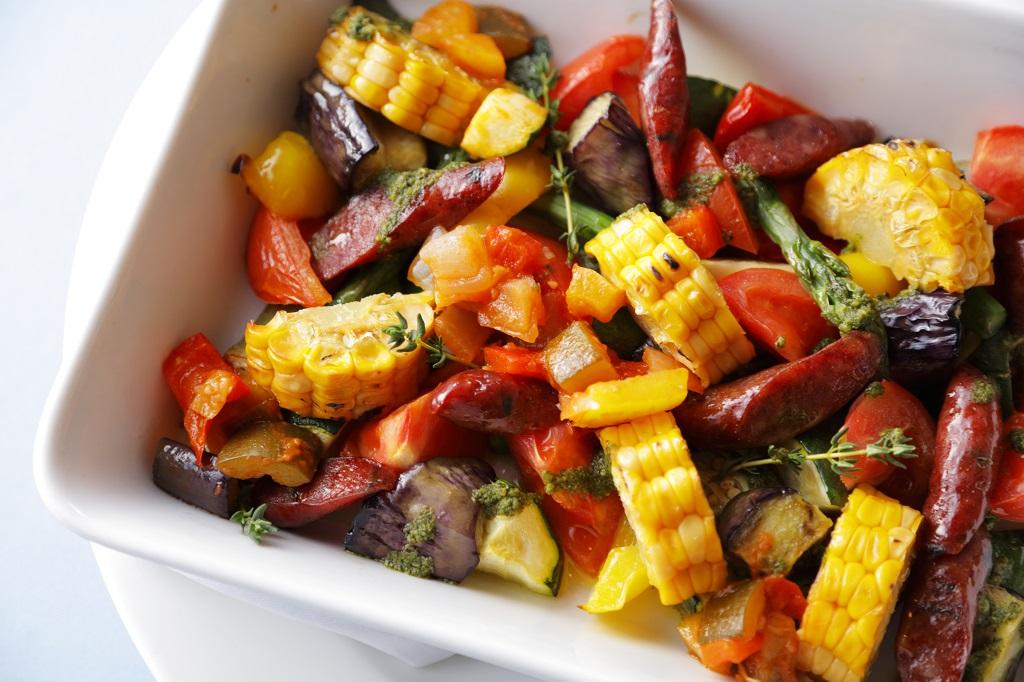 夏野菜の美味しさをシンプルに味わって!