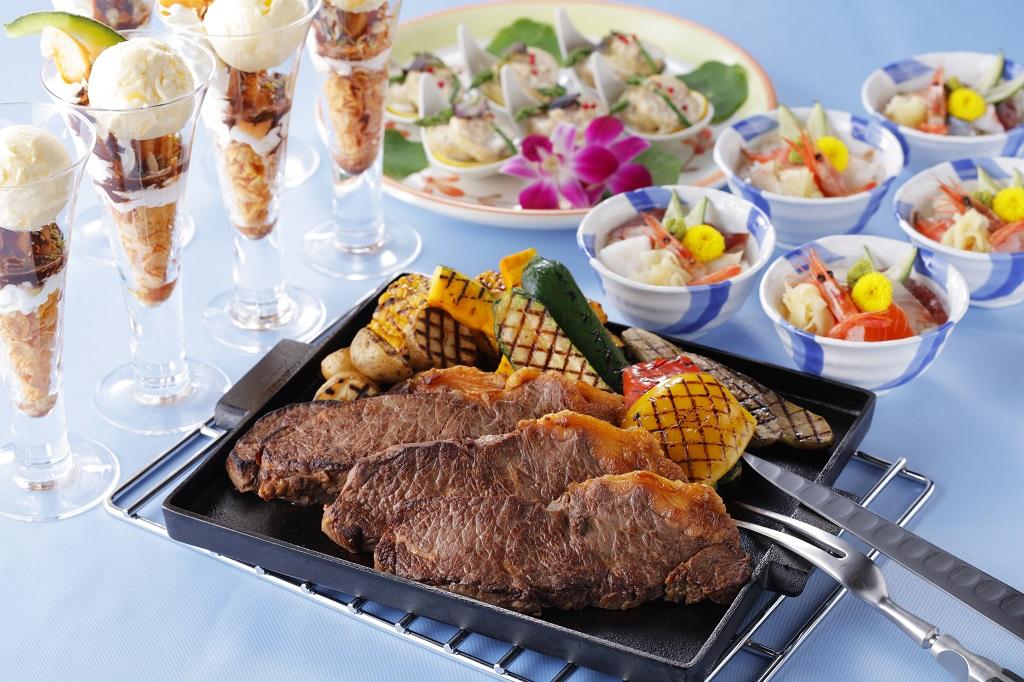ステーキ&海鮮丼★北海道ディナーブッフェ