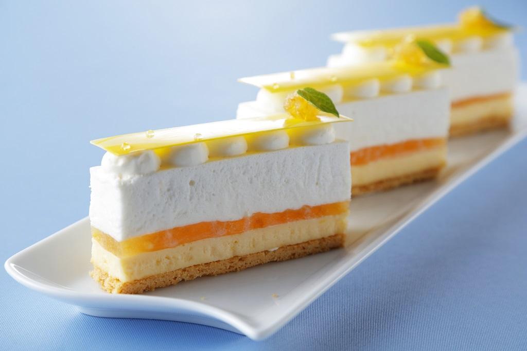 さっぱりしたレモンの美味しさ★チーズケーキ