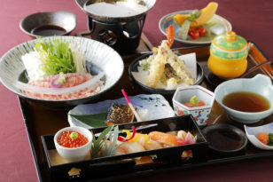 北海道の食の贅沢が一度に楽しめる★極膳