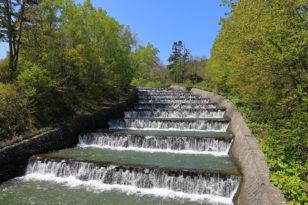 小樽の屋外観光スポット紹介⑤ 奥沢の水すだれ