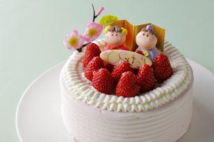 女の子の心をくすぐるキュートなケーキ