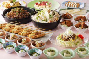 東北の郷土料理盛りだくさん★ランチブッフェ