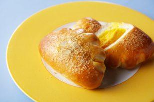 マンゴークリームたっぷり★おすすめクリームパン