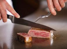 米沢牛鉄板焼きコース
