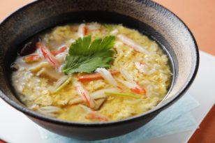 寒い季節にぴったり★ずわい蟹の雑炊