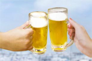 屋外で飲むビールは格別★ビアガーデン