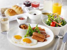朝食&フリードリンク無料プラン