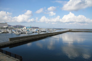 グランドパーク小樽前にある小樽港マリーナ