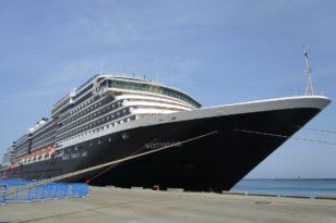 2019年度初の小樽寄港クルーズ船★ウエステルダム