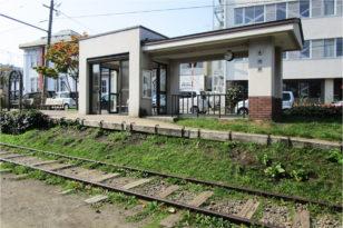 旧手宮線にある旧色内駅跡