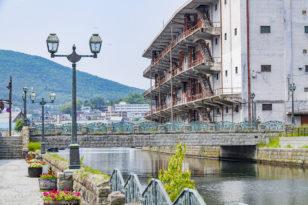 小樽の屋外観光スポット紹介① 北運河と運河公園