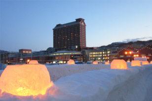 小樽雪あかりの路★マリーナ地区